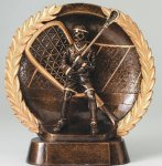 Resin Plate Lacrosse La Crosse Trophy Awards