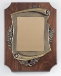 Walnut Cast Corporate Plaque Sales Awards