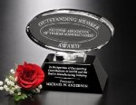 Awards In Motion Mirrored Oval Sales Awards